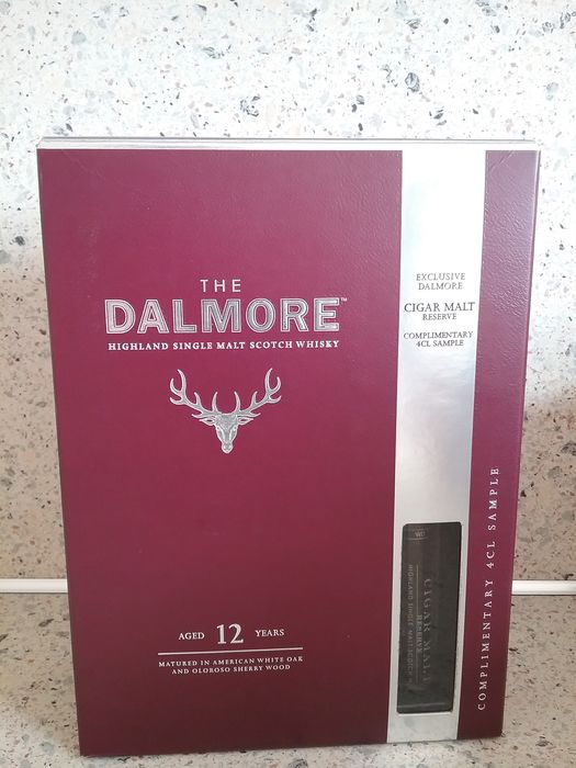 Dalmore 12 years old The Dalmore aged 12 years + 4cl sample Cigar Malt reserve - 70cl