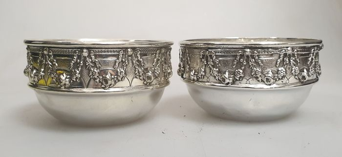 bowl (2) - .833 silver - Portugal - Late 19th century