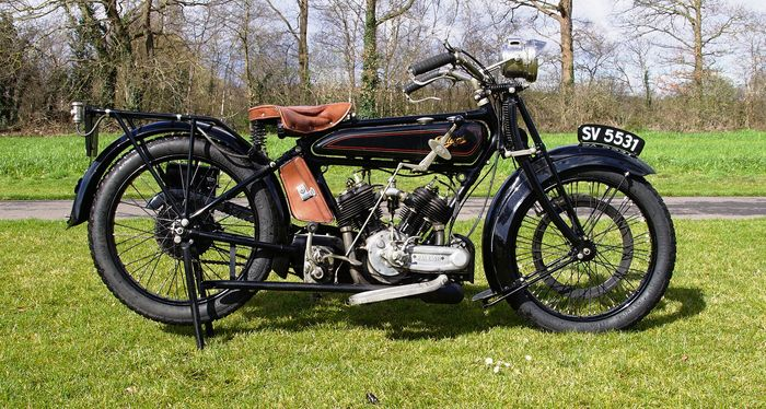 Raleigh - V-Twin  - 800 cc - 1924