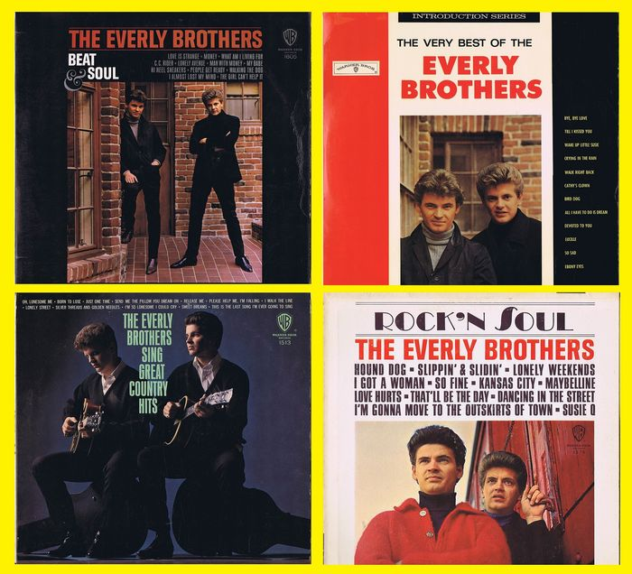 THE EVERLY BROTHERS (in Glorious MONO) - 1  The Very Best Of