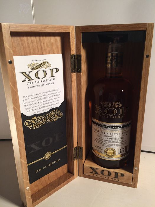 Cambus 35 years old XOP, Douglas Laing - Bottle no. 115 of 255 - 700ml