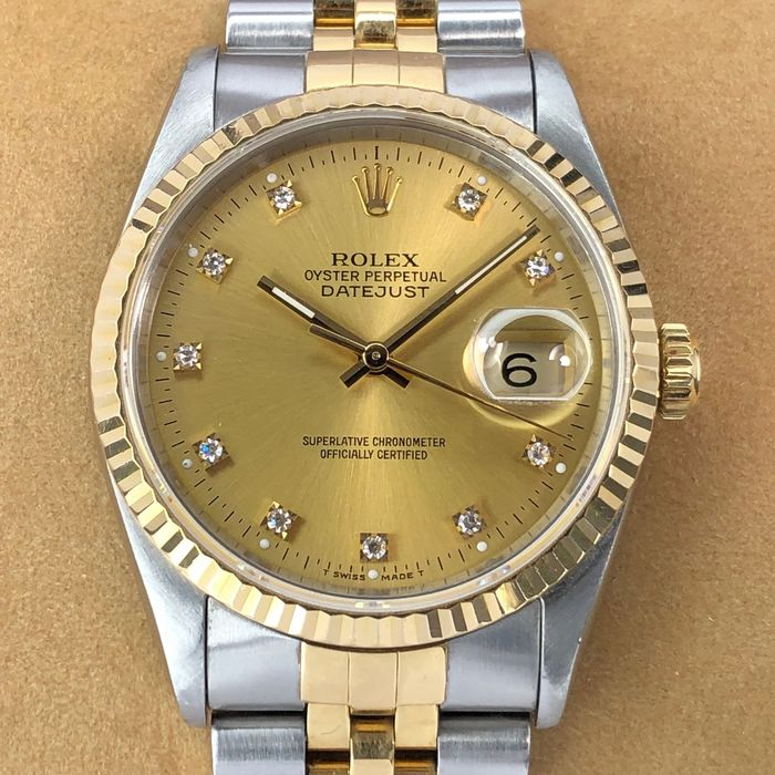 Rolex , Oyster Perpetual Datejust , 16233 , Unisex , 1990,1999 , Catawiki