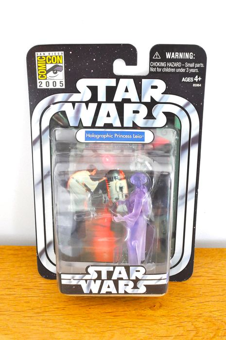 Star Wars - Carrie Fisher - Action-Figur Comic Con 2005