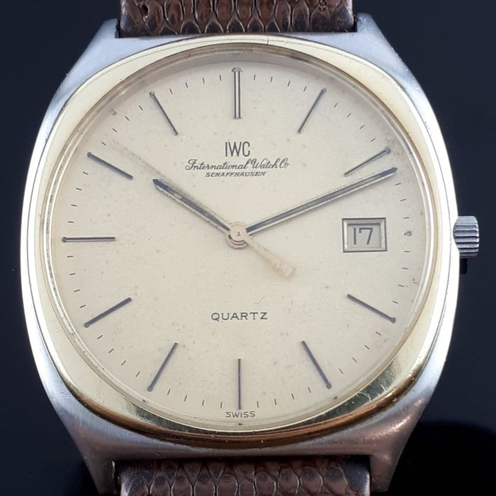 IWC - Classical Gold & Steel   - AD42845 - Heren - 1980-1989