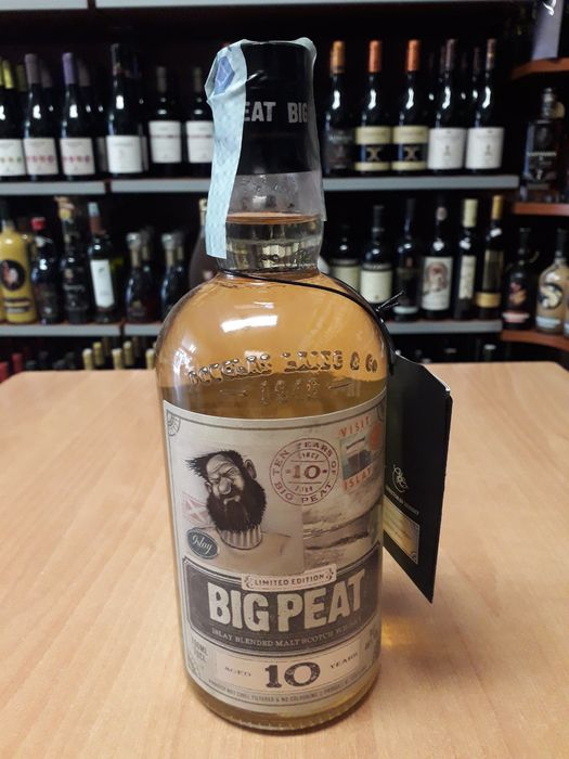 Big Peat 10 years old - Ten Years of Big Peat - 0.7 Litres