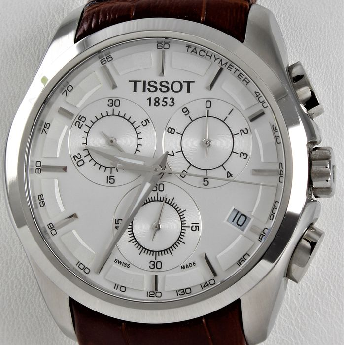 "Tissot - ""NO RESERVE PRICE""  Couturier Chronograph  - Ref. No: 	T0356171603100 - Swiss ETA movement - Never Worn - Men - 2019"