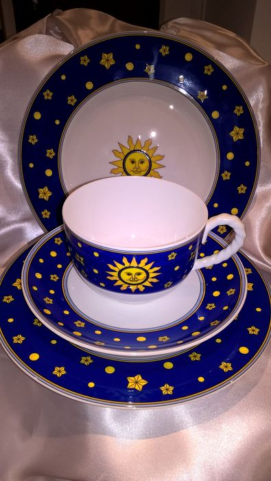 Paloma Picasso - Villeroy & Boch - 6 tea cups + saucers, 6 breakfast plates 6 dinner plates (24) - Porcelain