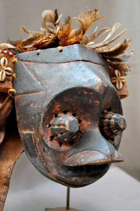 Mask - Wood - Pwoom Itok - Kuba - DR Congo