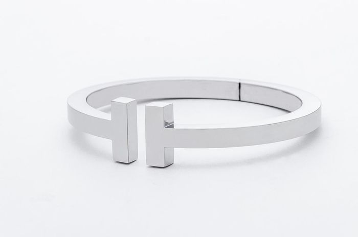 Tiffany & Co. T Square Bracelet Oro blanco - Brazalete