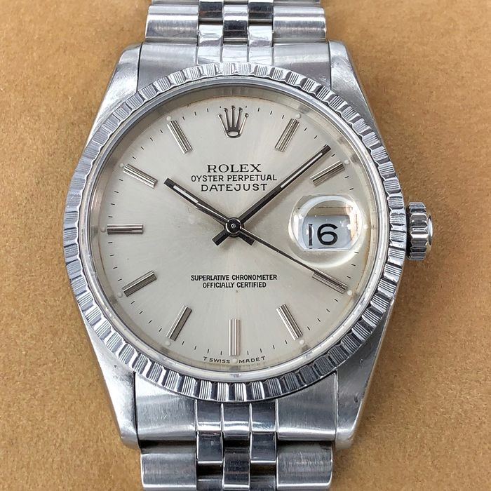 Rolex -  Oyster Perpetual Datejust - 16220 - Unisex - 1990-1999