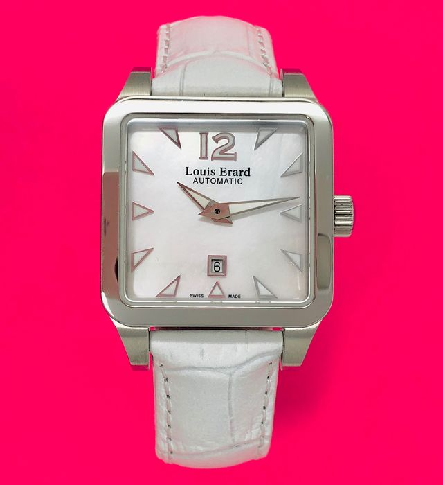 "Louis Erard - Automatic Watch Emotion Collection White ""NO RESERVE PRICE"" - 20700AA04 - Women - BRAND NEW"