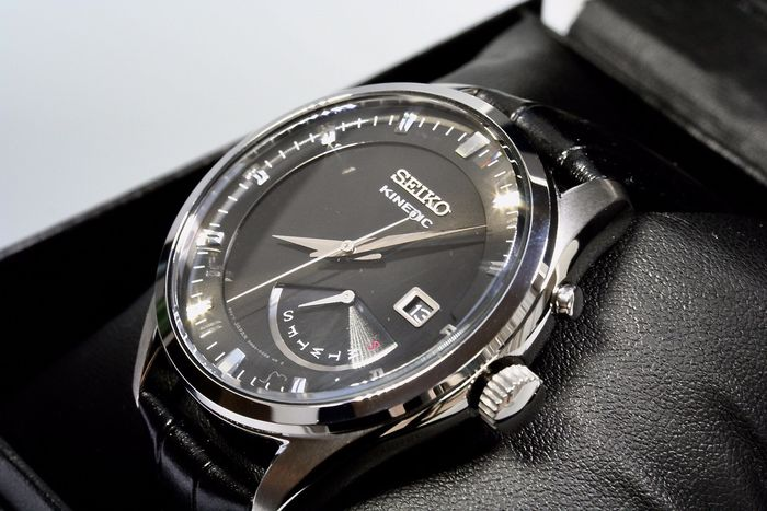 Seiko - Kinetic day black edition - New - Homme - 2011-aujourd'hui