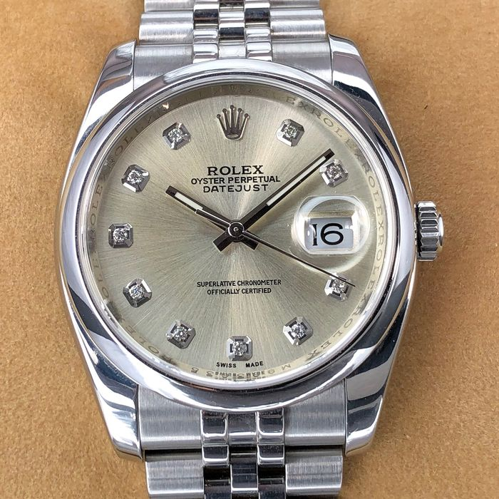Rolex - Oyster Perpetual Datejust - 116200 - Unisex - 2000-2010