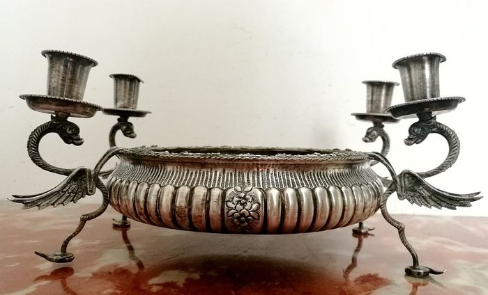 Centerpiece Detail in Antique Italian Silver - Silver - Italy - First half 20th century