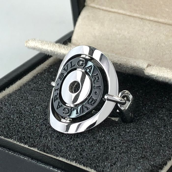 Bvlgari Astrale Collection Lady's Ring, Size 55 (EU) - 18 kt. White gold - Ring