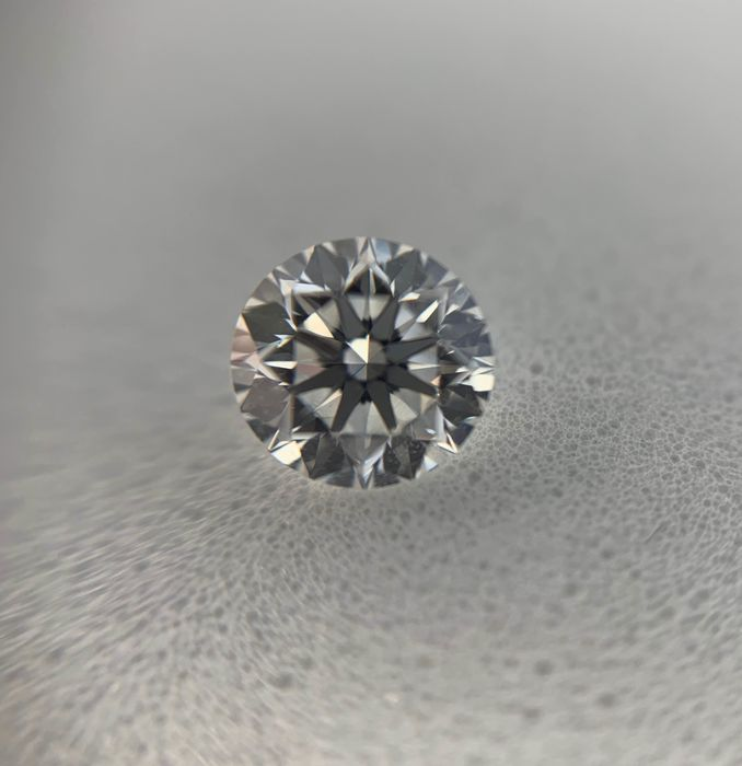 1 pcs Diamant - 0.54 ct - Brillant - D (farblos) - IF (makellos), LC (lupenrein)