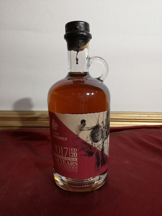 Foursquare 2005 12 years old Tres Hombres - Ed. 20 Old Porto Bayan Rum - 70cl