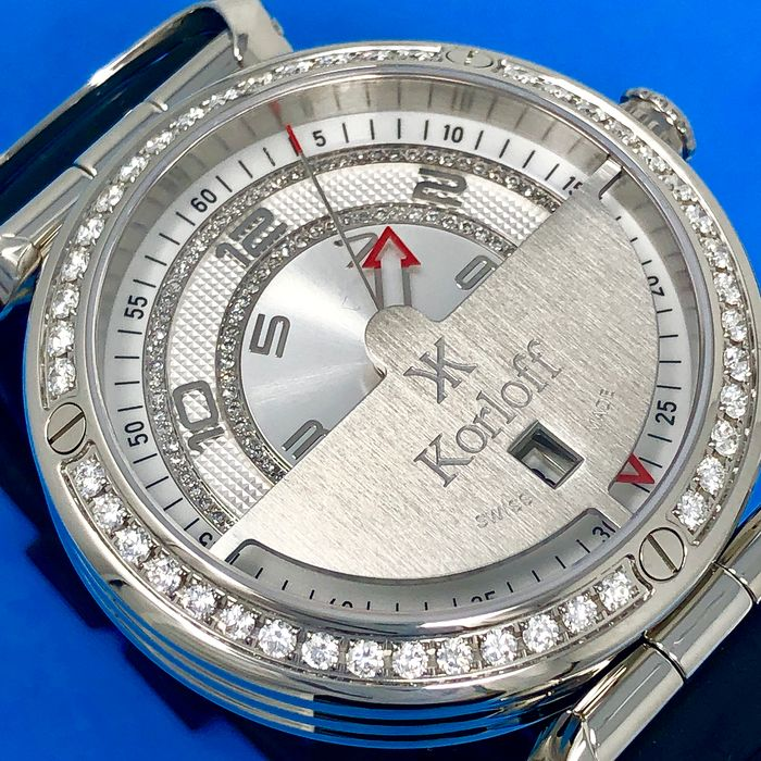 Korloff - Diamonds - 1.65 Carats Highway Voyager Limited Edition Swiss Made  - VQ2/269 - Unisex - Brand New