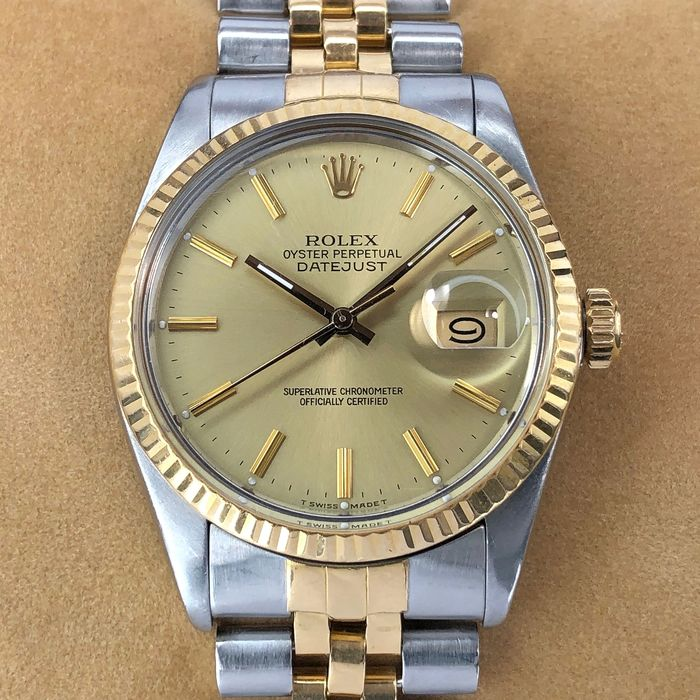 Rolex - Oyster Perpetual Datejust  - 16013 - Unisex - 1980-1989