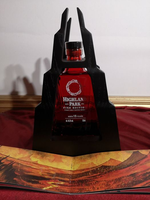 Highland Park 15 years old fire edition  - 0.7 Ltr