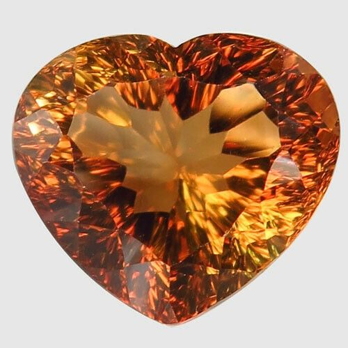 Brun orange Topaze - 11.88 ct