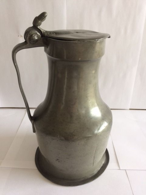 French pewter can - Pewter/Tin - 1800