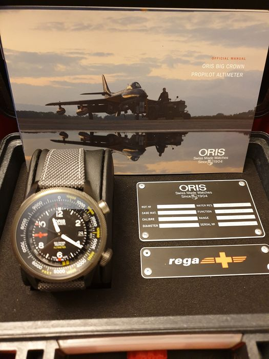 Oris - Big Crown Propilot Altimeter - Men - 2011-present