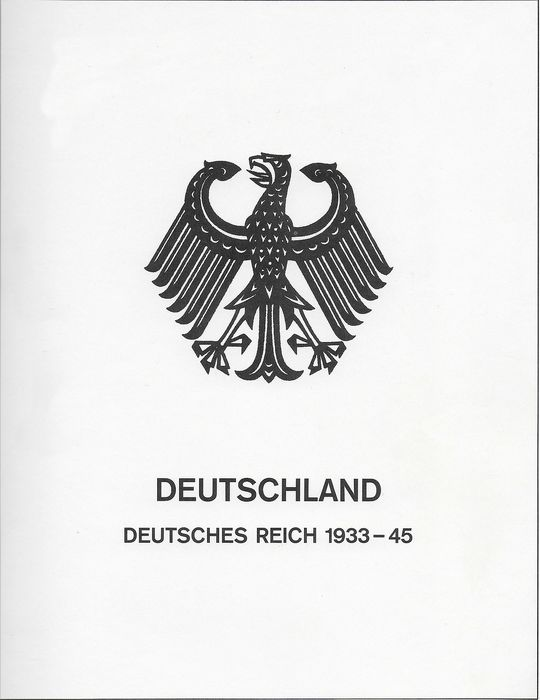 "German Empire 1933/1945 - almost complete mint collection ""Third Reich"" - Michel 479 / 907"