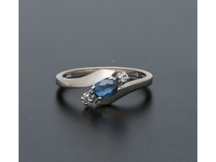 14 kt. White gold - Ring Loliet - Diamond