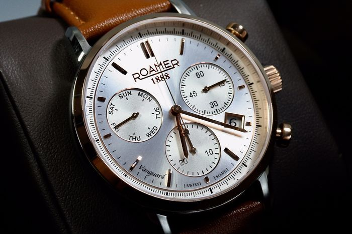Roamer - Vanguard Chronograph - New Collection 2 years warranty - Men - 2011-present