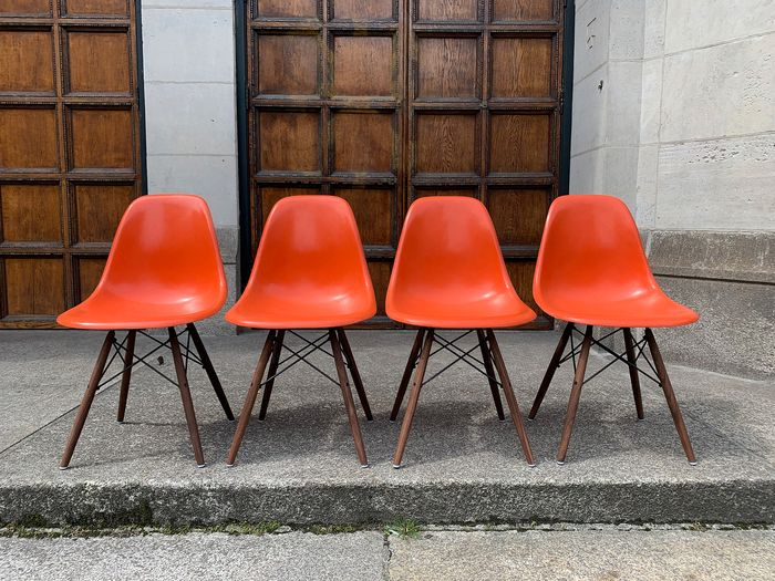 Charles Eames, Ray Eames - Herman Miller, Vitra - Dining room chair (4) - DSW