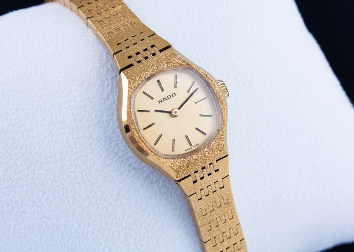 "Rado - ""NO RESERVE PRICE"" Luxury Swiss Watch - Women - 1970-1979"