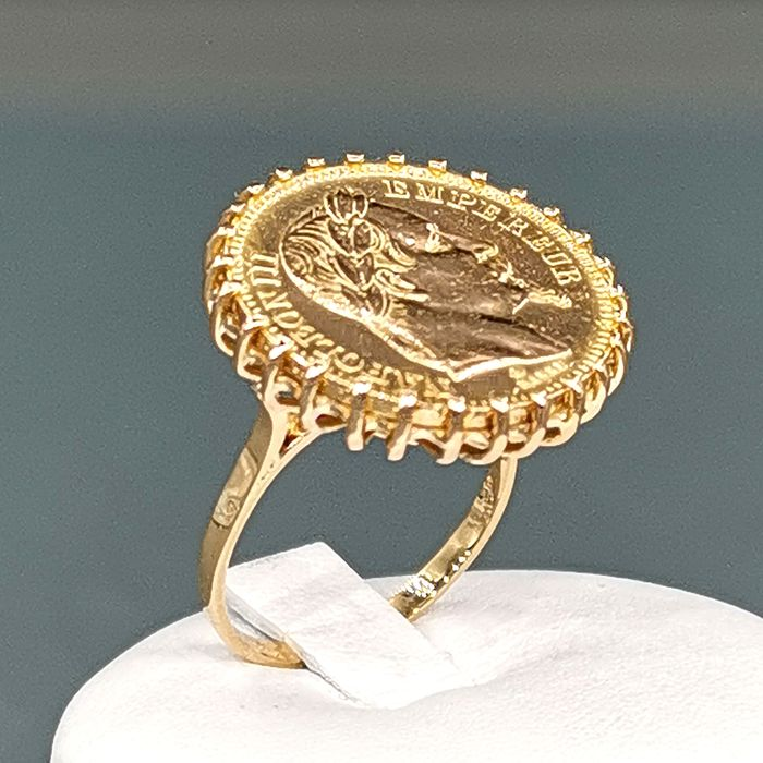 21,6 kt. Yellow gold - Ring