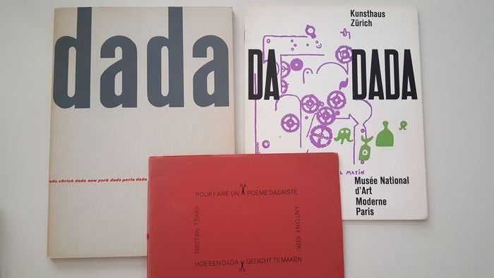 Dada Lot With 3 Catalogues 19581983 Catawiki