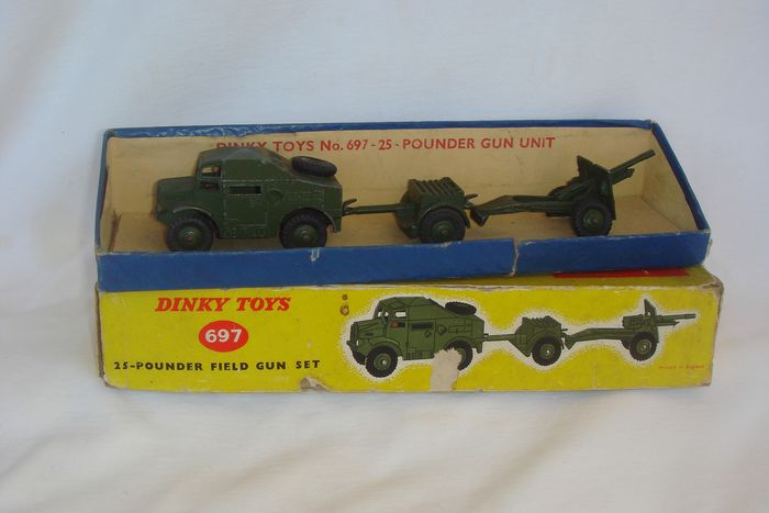 Dinky Toys - 1:48 - Military Gift Set no 697 - First Issue