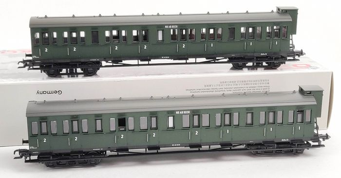 Piko H0 - 53310 - Passenger carriage - Two coupé carriages - NS