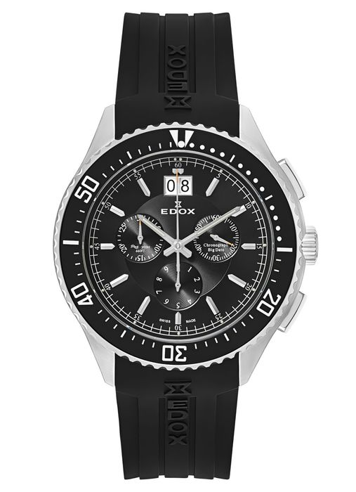 Edox - C1 Chronograph Big Date - 10026 3CA NIN - Men - 2011-present