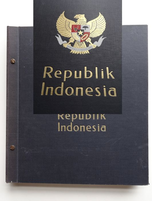 Indonesia 1949/1979 - Collection most MNH in old DAVO preprint album