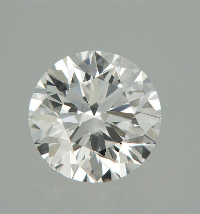 1 pcs Diamant - 0.50 ct - Brillant - E - IF (makellos)