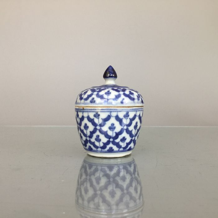 Bowl - Blue and white - Porcelain - Thailand - First half 20th century