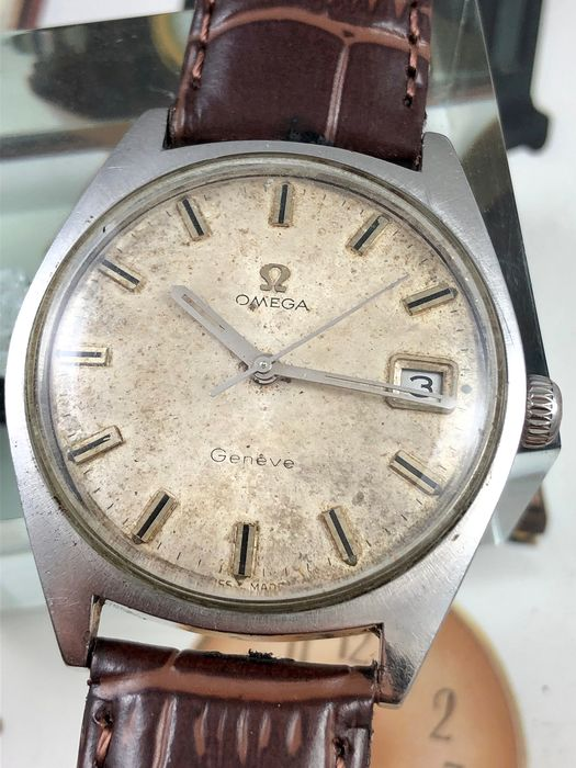 "Omega - Geneve cal. 613  - ""NO RESERVE PRICE"" - 136.041 - Férfi - 1970-1979"