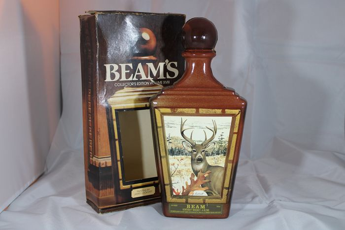 Beam collectors edition - Official bottling - b. 1980s - 750ml