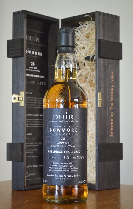 Bowmore 1982 25 years old Duir - Single Cask - one of 220 bottles - The Whisky Talker - 700ml