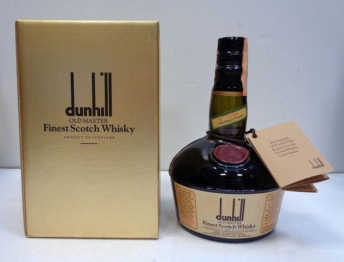 Dunhill Old Master - b. 1980s - 75cl