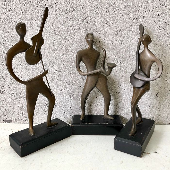 Abstract Musical Figurines (3)