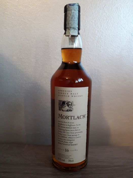 "Mortlach 16 years old ""Flora and Fauna"" - Discontinued - Original bottling - 70cl"