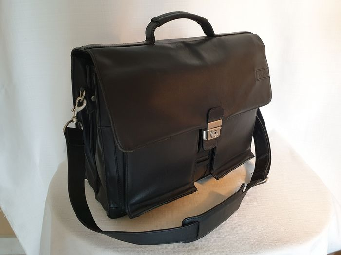 Leather briefcase / laptop bag - Volvo - 2000