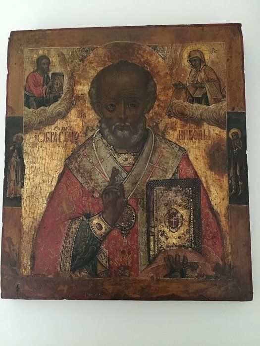 Icon - Wood - Late 18th century