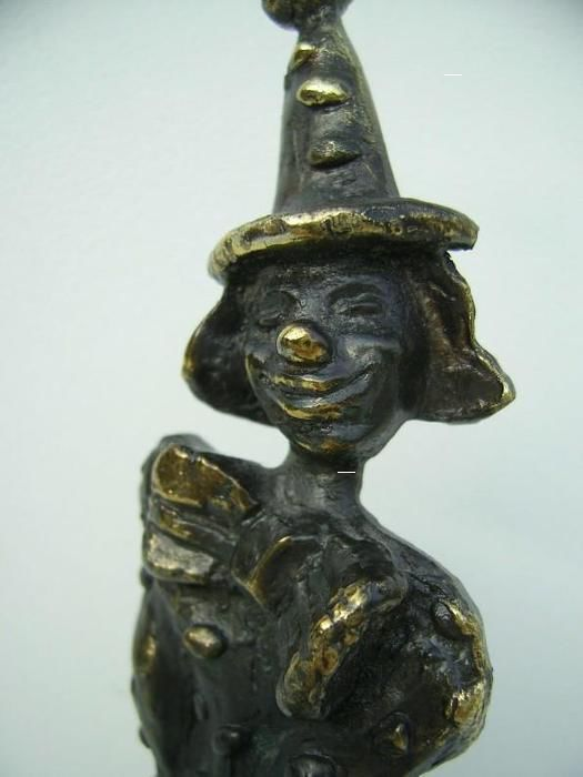 Corry Ammerlaan-van Niekerk - Sculpture clown
