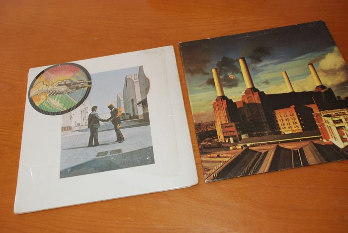 Pink Floyd - Animals - Wish You Were Here - Multiple titles - LP's - 1975/1977